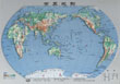 世界地形图高清中文版